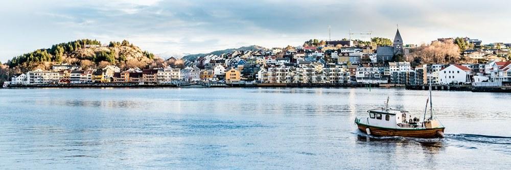 Kristiansund Harbour. Photo: Kristoffer Ytterland