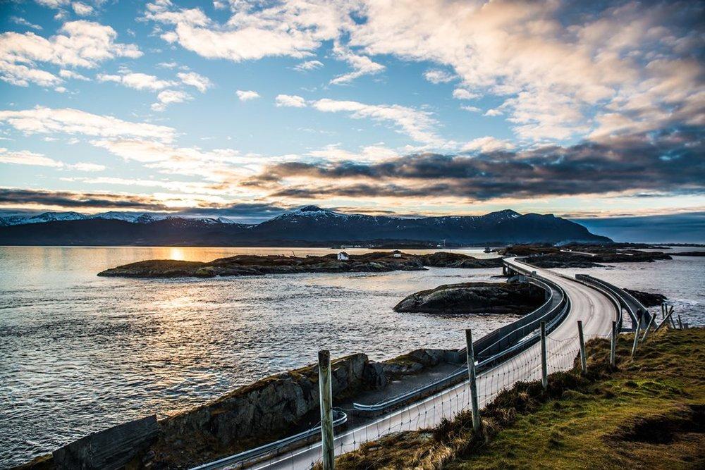 The Atlantic Road. Photo: Kristoffer Ytterland