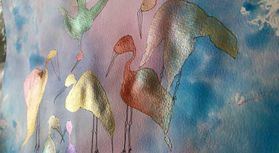 Akvarellmaling, perlemorsmaling og akrylmaling på akvarellpapir2.jpg