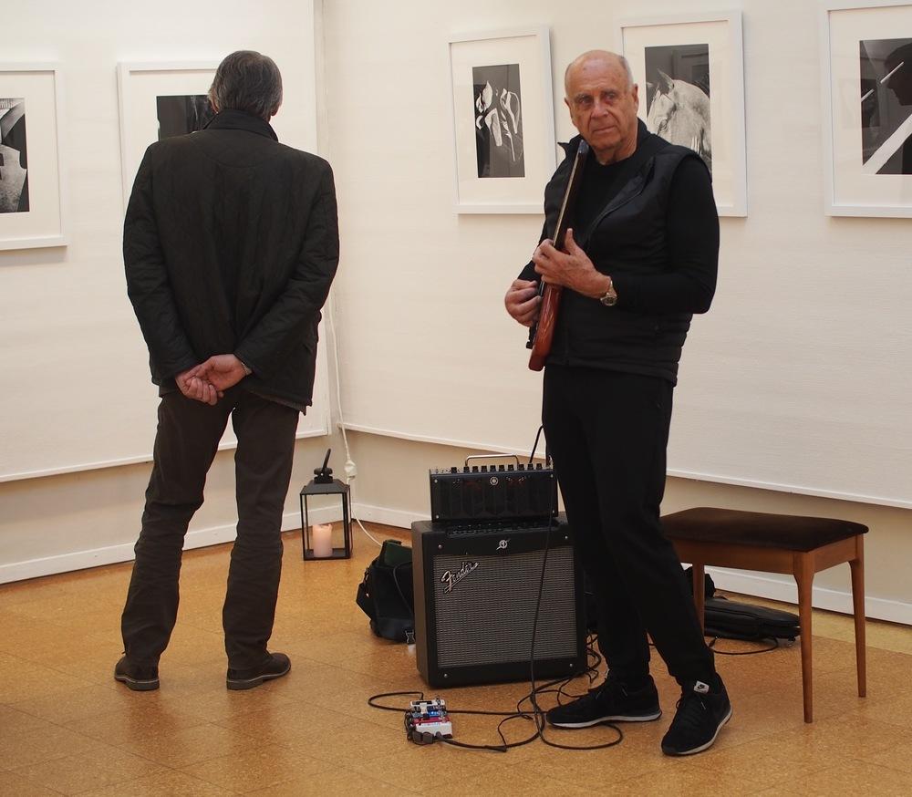 Musiker og fotograf Ralph Gibson. Foto: E. Bjerkestrand