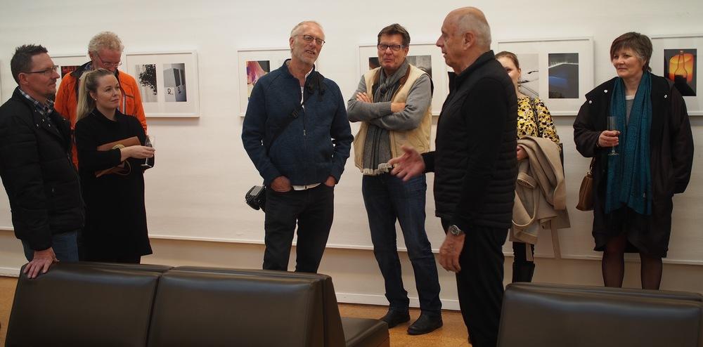 Møte med en legende. Foto: E. Bjerkestrand