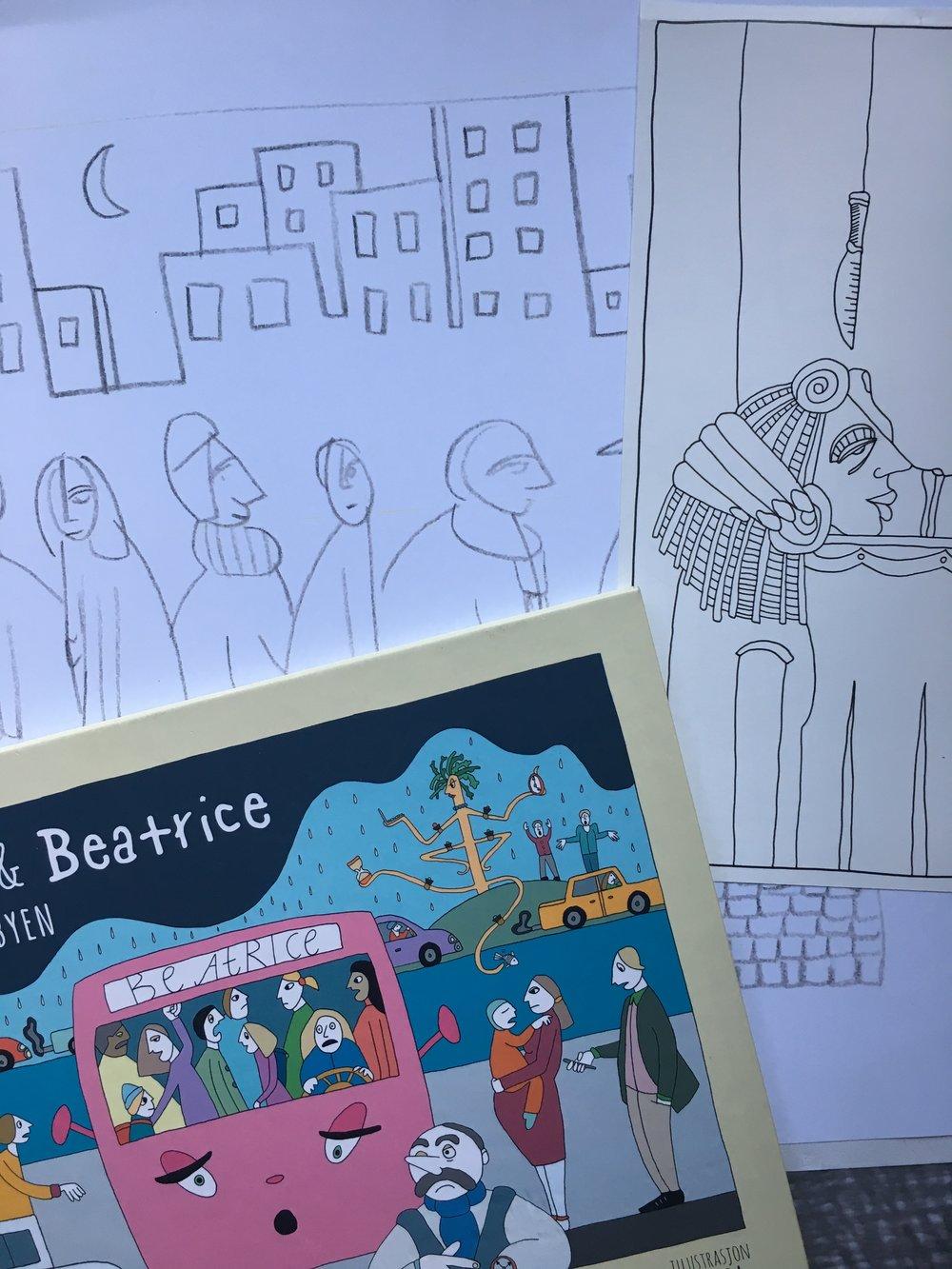 Illustrasjoner av Tora Greve // Illustrastion by Tora Greve