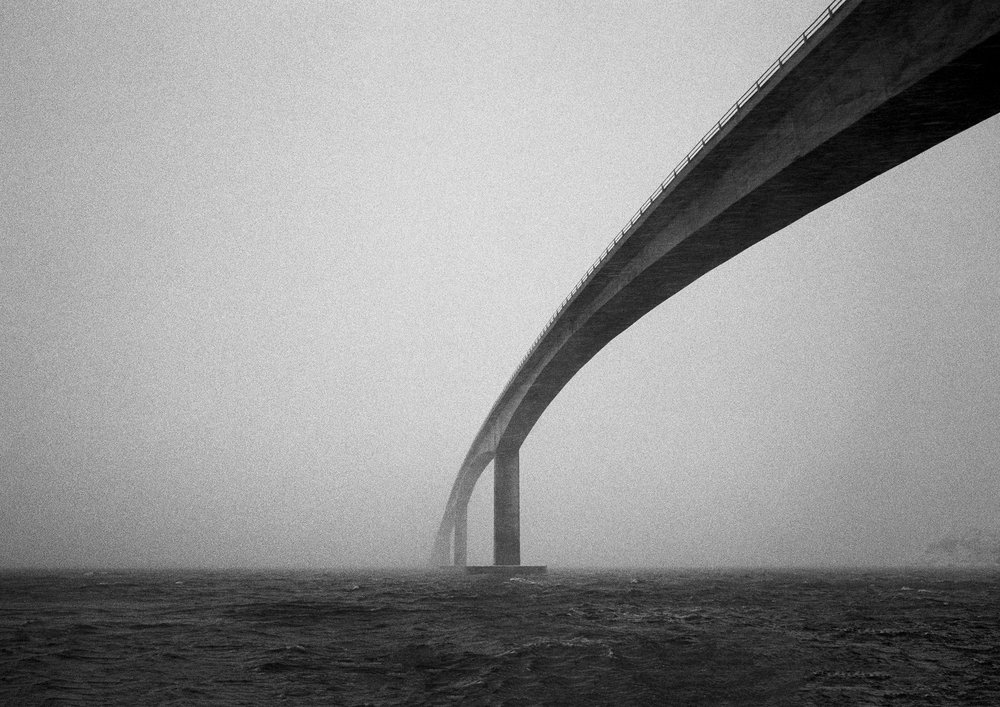 © Morten Løberg Gimsøybrua // Gimsøy Bridge