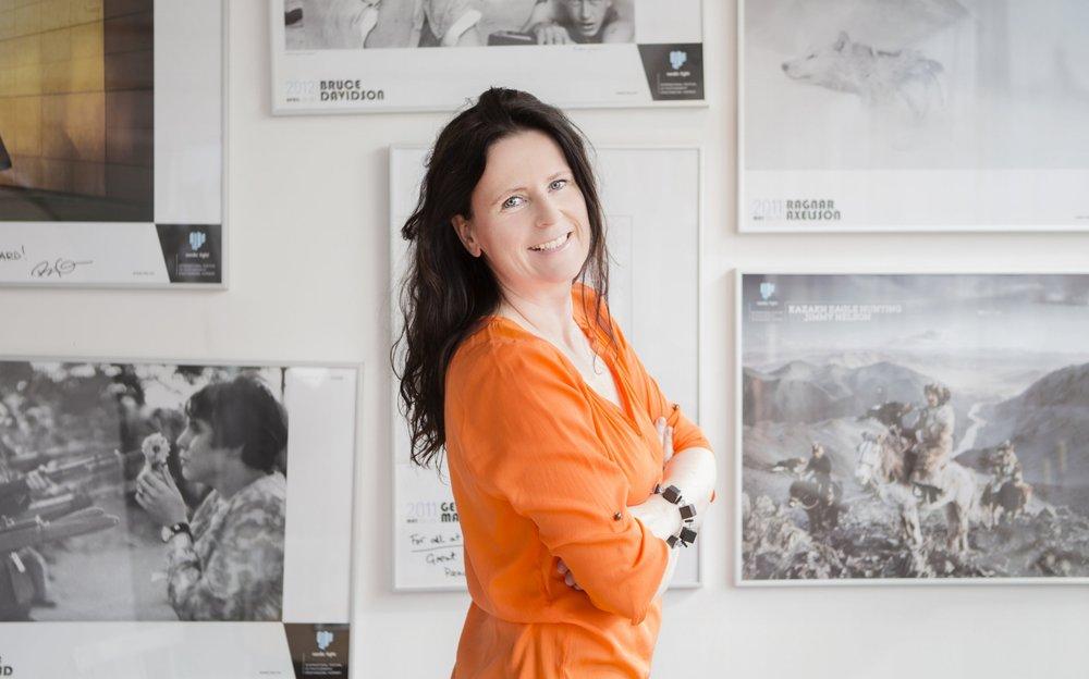 Ingunn Strand, daglig leder i Nordic Light Events og initiativtaker til etablering av et bedriftsnettverk for kreative næring på Nordmøre. Foto: Studio 400.