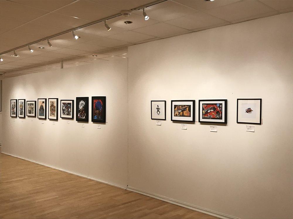 Ola Alnsæs' exhibition