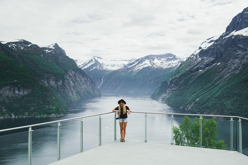 Ljøen view point, Hellesylt/The Geirangerfjord. (Photo:Samuel Taipale/visitnorway.com)