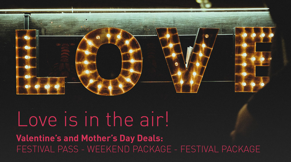 Treat yourself or someone you love with a Nordic Light festival experience, including a small surprise upon arrival!