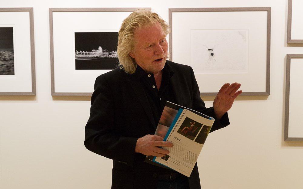 Bli med når Morten Krogvold presenterer årets fotografer for de frivillige i Nordic Light Events. Foto: Roy Kangas.