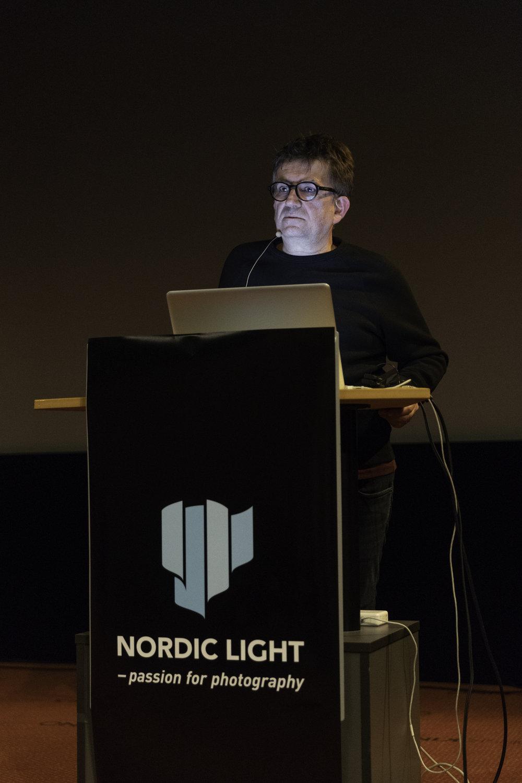 Massimo Leardini at his lecture