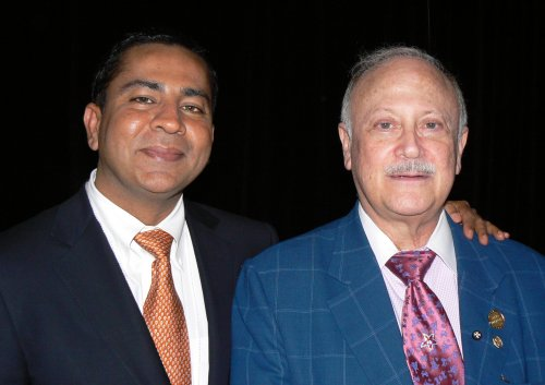 2 009 CGS guest speakers, Dr. Rohit Varma and Robert Ritch