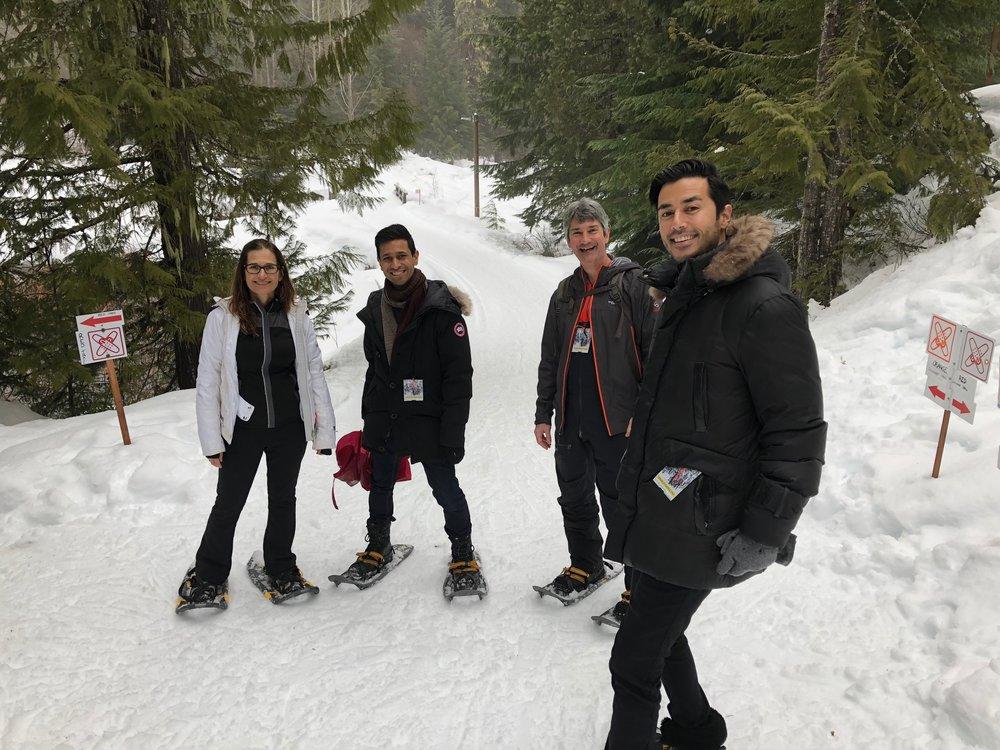 Left to Right: Lisa Gould, Raageen Kanjee, Jamie Taylor, Hady Saheb