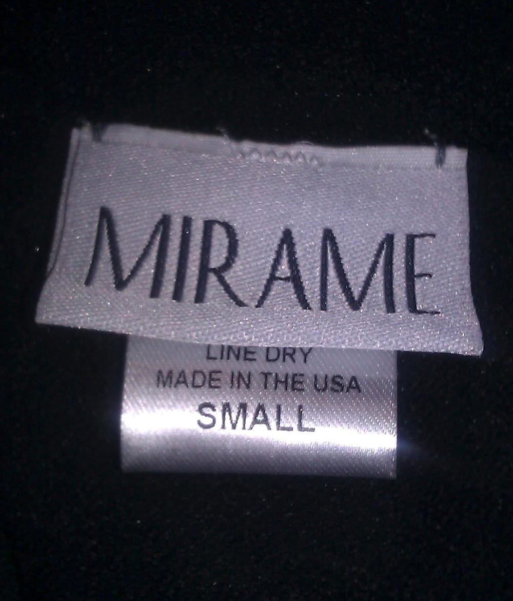 Our garments, tags, signage, and elastic are made in the USA