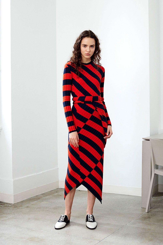 Altazurra stripe dress