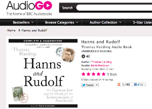 Audiobook Hanns and Rudolf
