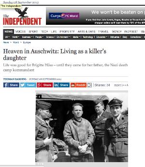 Independent 8 Sep 2013 (similar to Post article above)