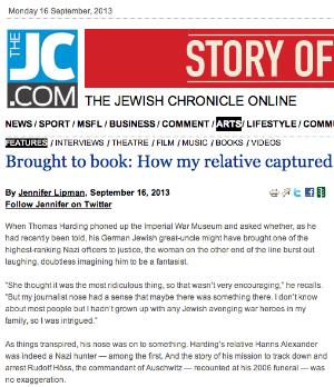 Jewish Chronicle 16 Sep 2013