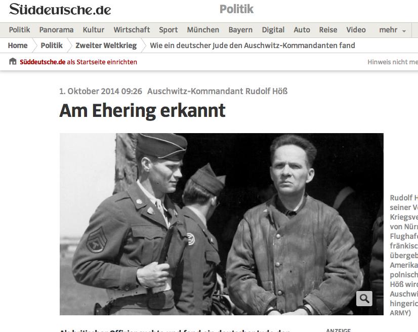 Süddeutsche 1 October 2014