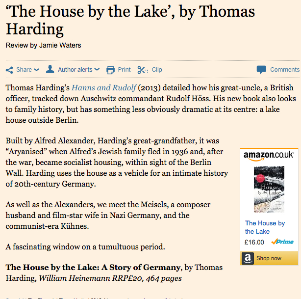 Financial Times 23 October 2015