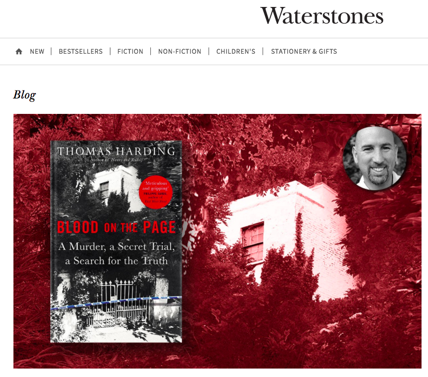 Waterstones Blog: Top True Crimes Picks January 2018