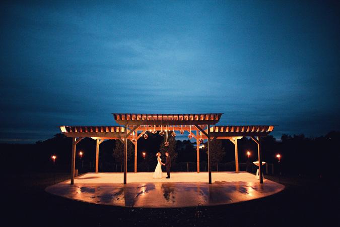 fireside winery wedding photo marengo IA