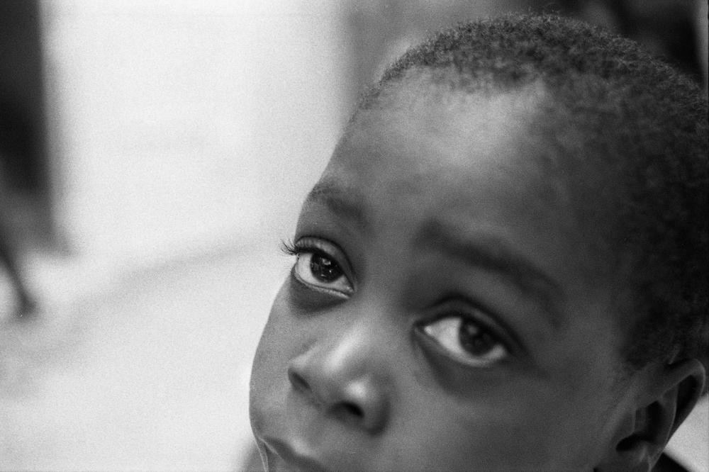 Emanuel.   Zanmi Lasante. Cange, Haiti. 2009  35 mm B&W film