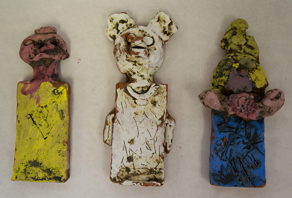 Clay Wall People Project
