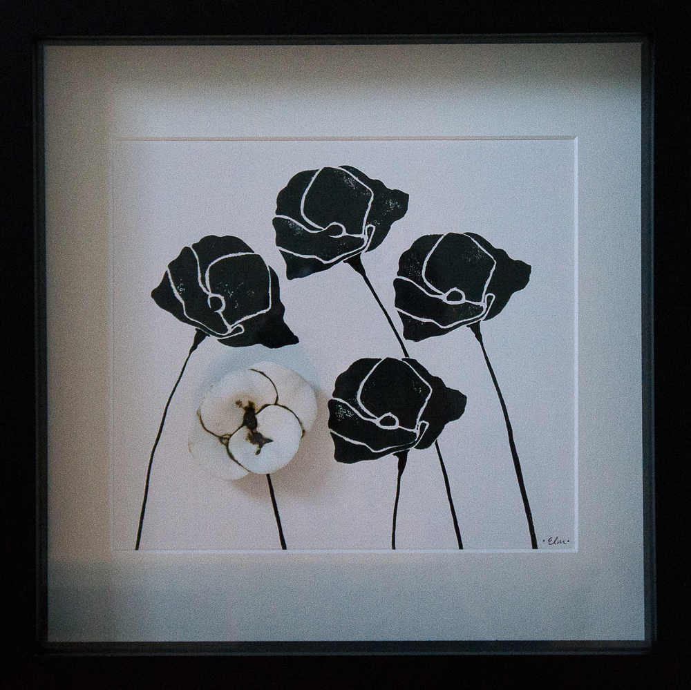 Poppies in Black & White #1