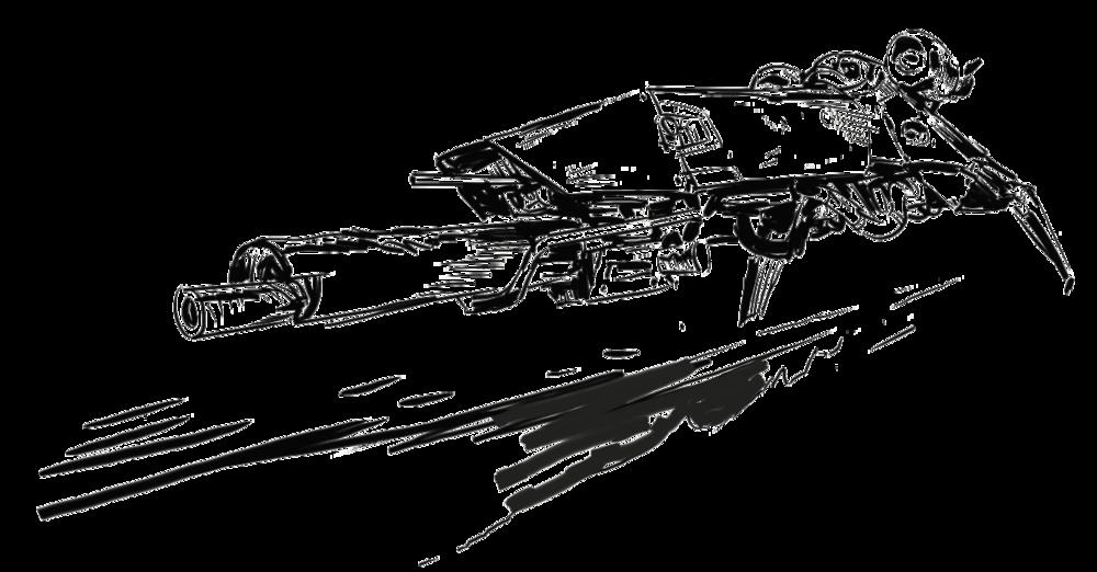 Spaceship sketch