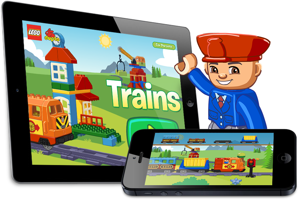 LEGO® DUPLO® Trains - Available for iOS and Android