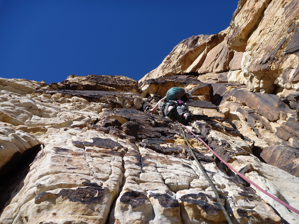 Climbing in Red Rock, NV