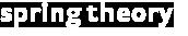 Spring Theory white logo
