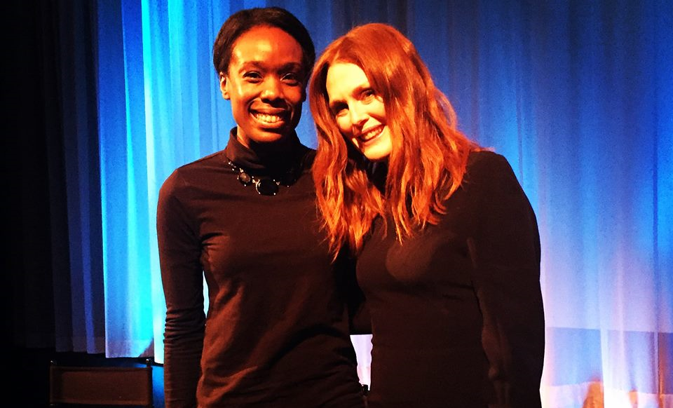 Me and Julianne Moore at The Academy Screening in NYC
