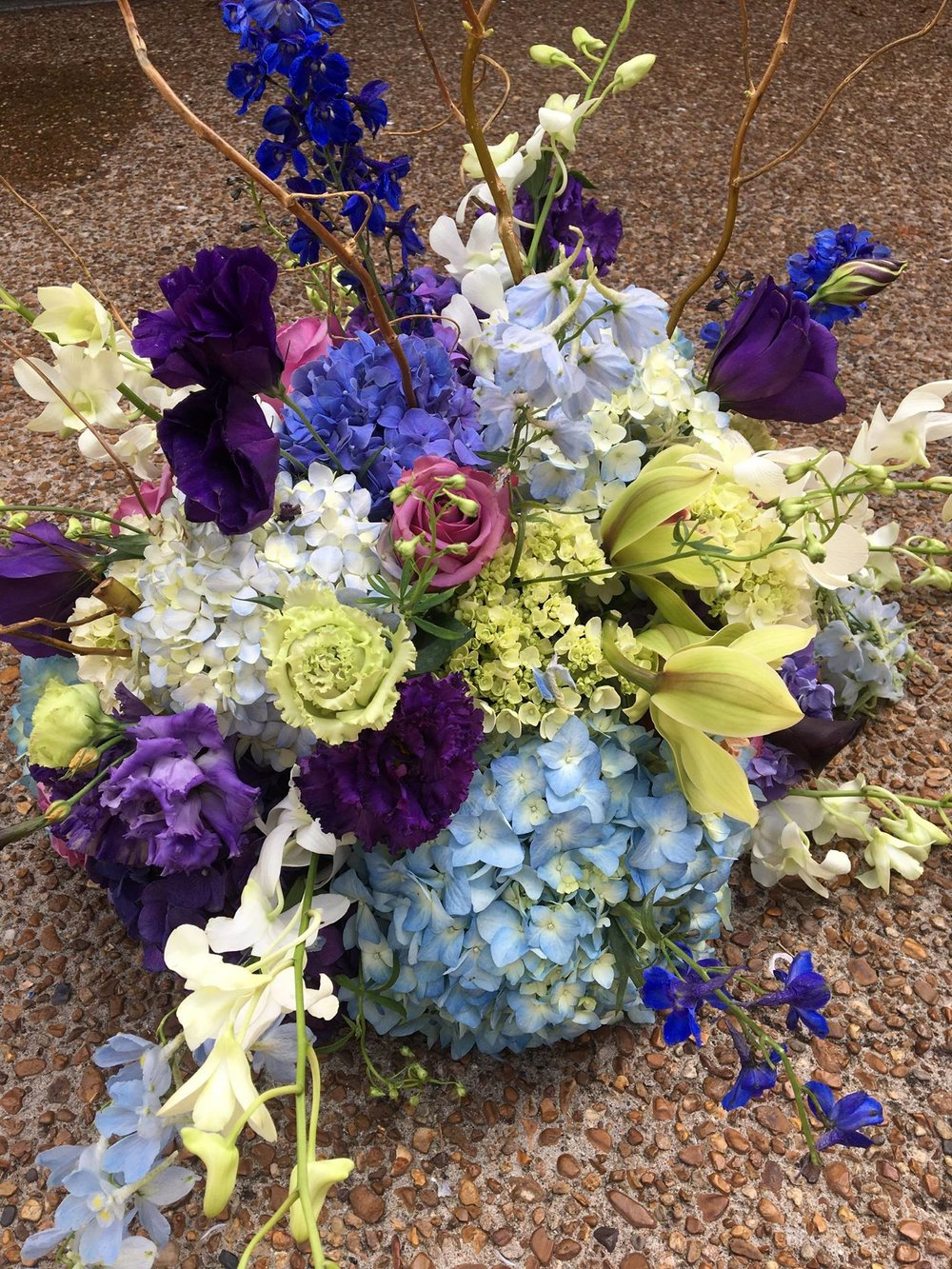 Donated Centerpieces Flowers by lma Designs