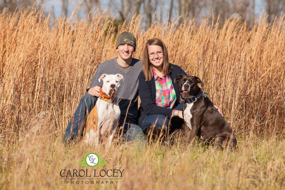 Last but certainly not least, is this portrait of my son, daughter-in-law and my two grandpups Koda and Jack Jack.   I've been dying to take photo's of someone in these beautiful tall grasses and they were willing.  I love this image but I love all the faces in this image more.