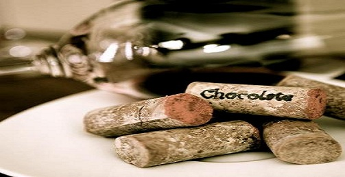 "Meet the 1st ""Chocolate Cork"", wine lovers pairing paradise!"