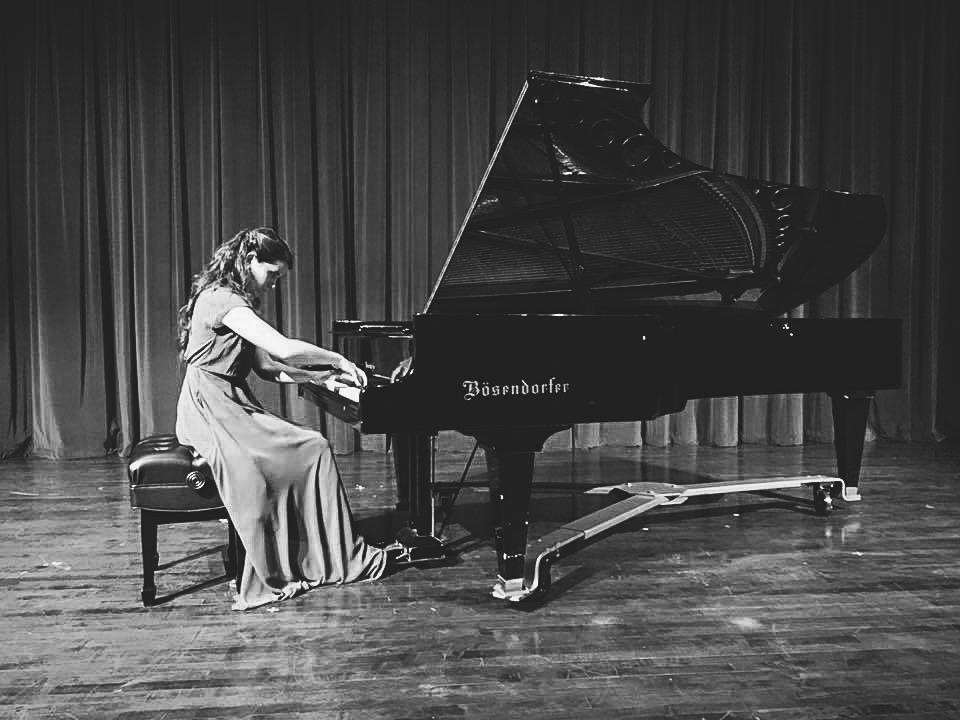 My graduate piano recital, November 2015