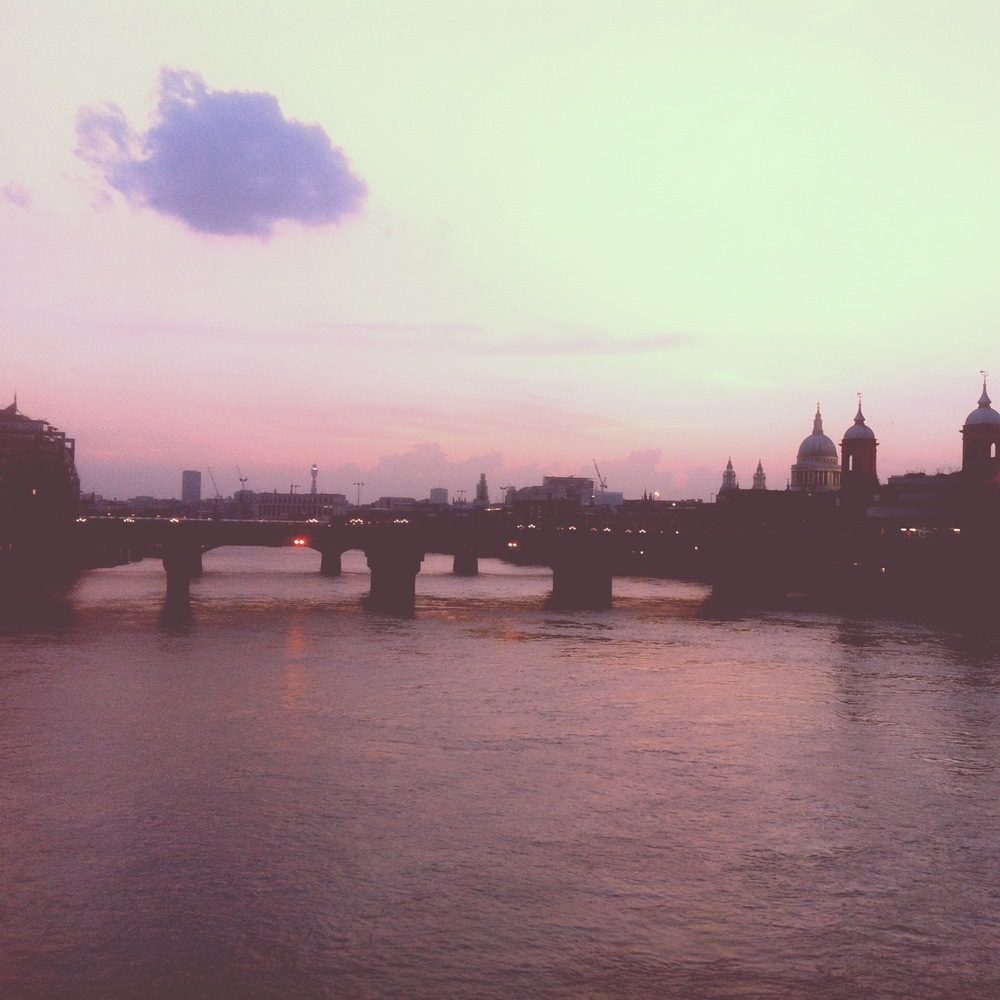 London Bridge skyline