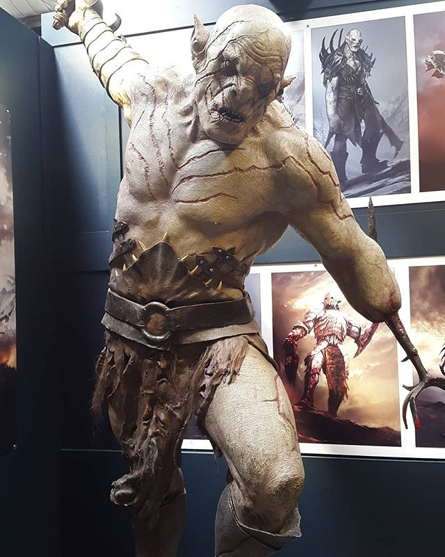 Azog the Defiler at the Weta Cave #azog #orc #weta #wetacave #wetaworkshop #wetastudio #hobbit #thehobbit #thereandbackagain #anunexpectedjourney #fivearmies #wellington #mirarama #newzealand #lotr #lordofthdrings #middldearth #art #sculpture #nofilter #film #thelordoftherings #epic #nerdy #geeky #bilbo #baggins #paleorc #whiteorc #newzealandtravel