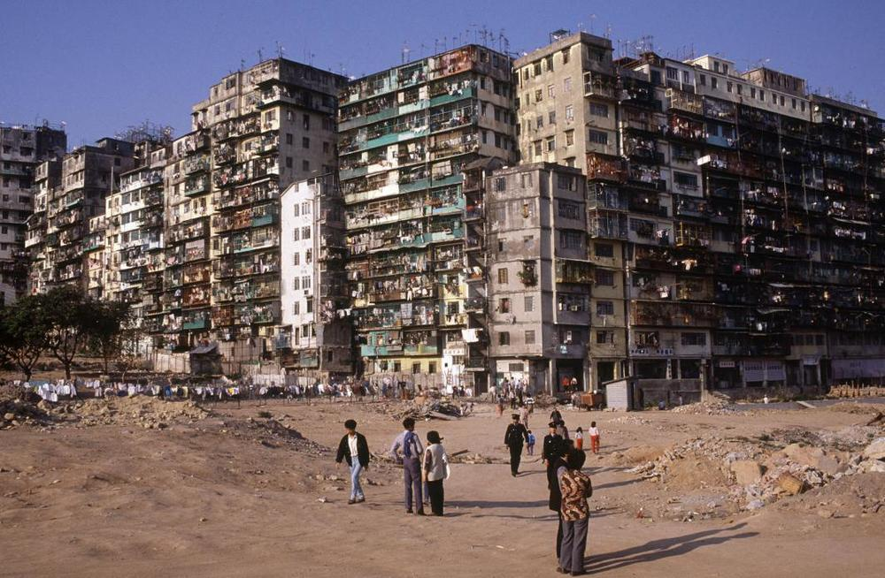 Kowloon Walled City, 1987  © Greg Girard