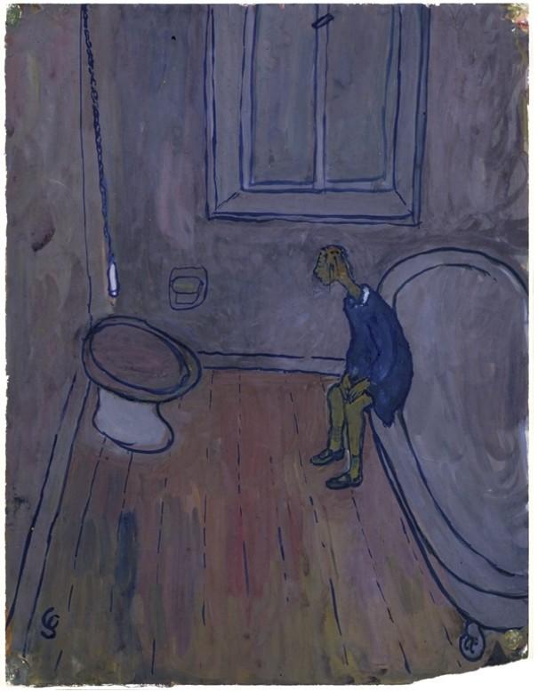 """...jusqu'à ce qu'elle s'enferme dans la salle de bains et commence à s'interroger sur la vie.  CHARLOTTE - """"Alors c'est ça qu'ils appellent la vie"""".  Sur le même air."""