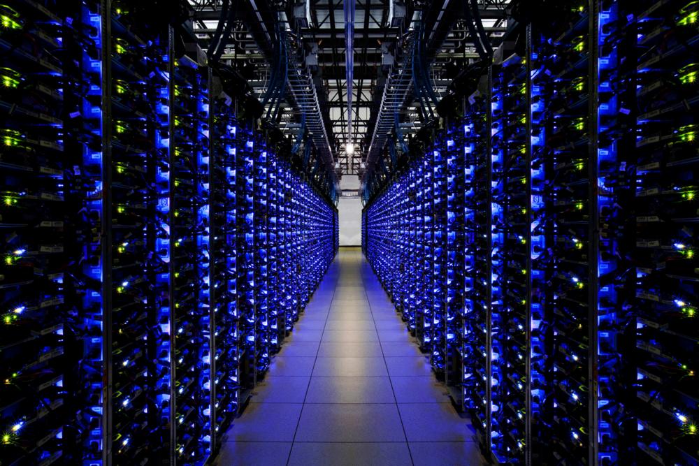 Un Google Data Center