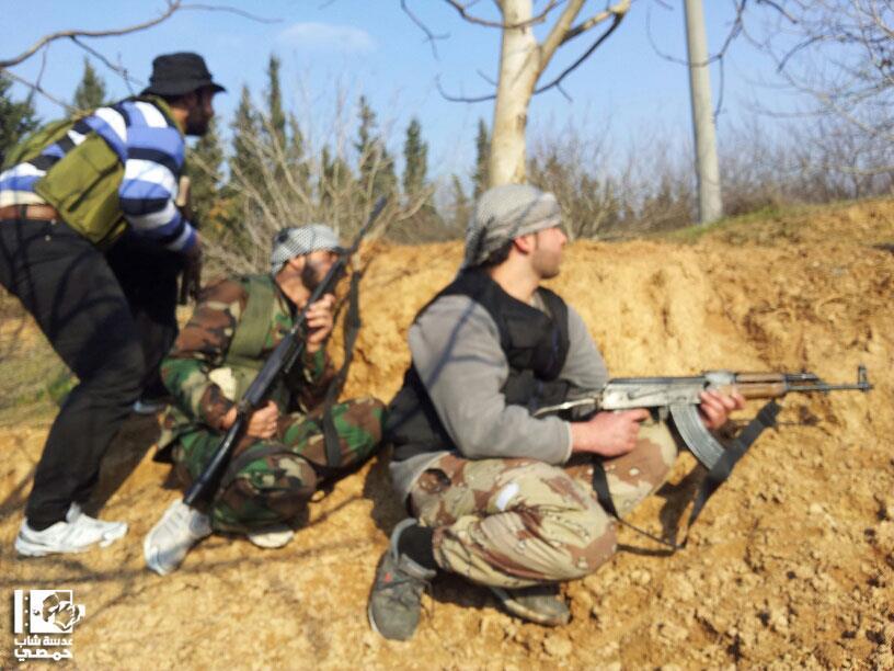 Al Qusair الجيش السوري الحر | The Free Syrian Army اليوم | Today 20 Jan 2013