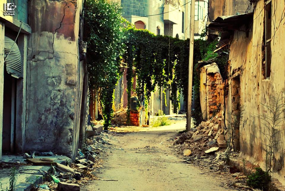 المكان: حـمـص - حــيّ بــاب التُـركـمـــان Location: Homs City - Bab Al-Turkman Neighborhood الزمان: اليـوم - 20 آب 2013 Date: Today- 20 August 2013