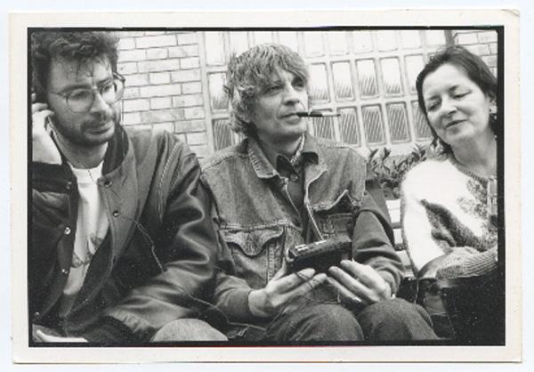Yannick Bourg, à gauche, avec Patrick manchette. Photo Jerome Brezillon