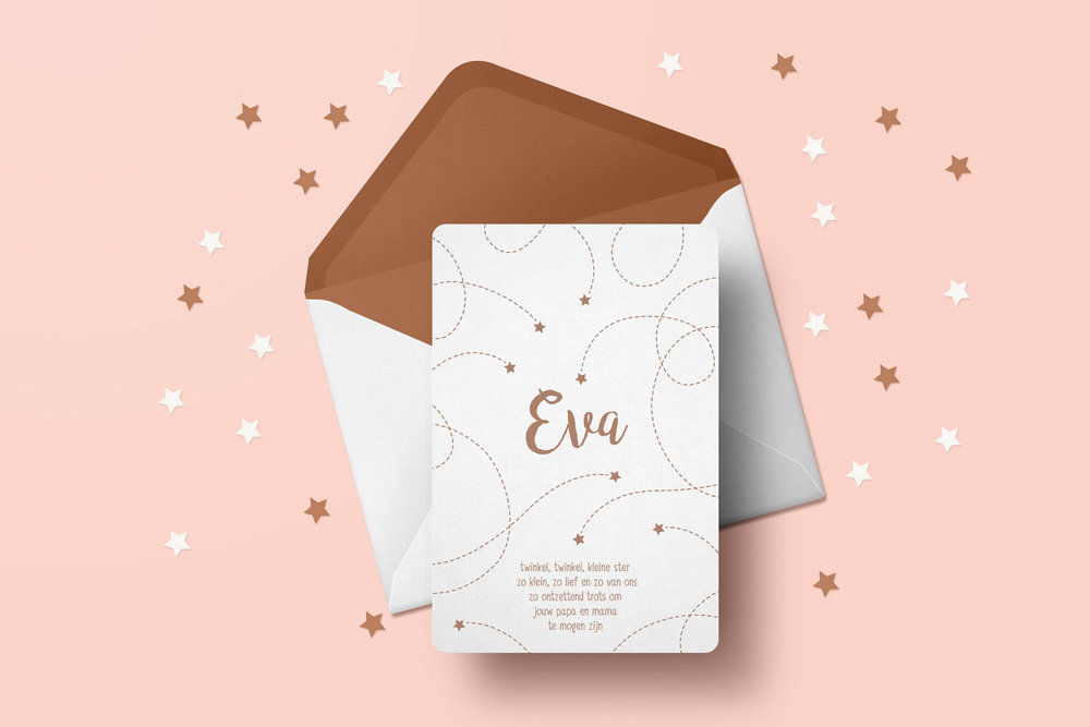Geboortekaartje Eva