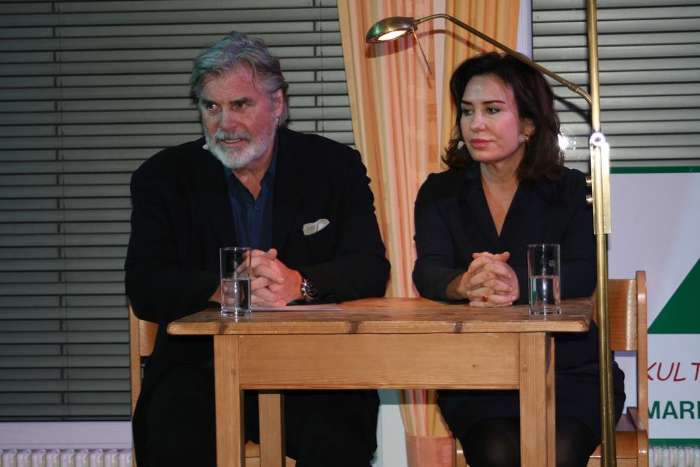 Peter Simonischek und Brigitte Karner