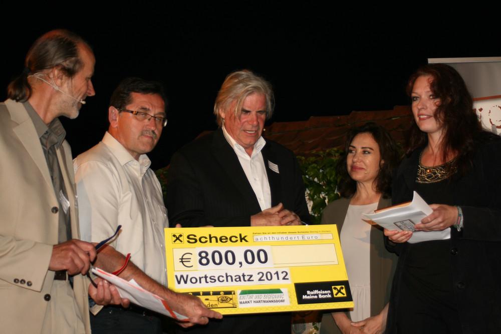 Andrea Sailer - Siegerin - Wortschatz 2012 Literaturwettbewerb