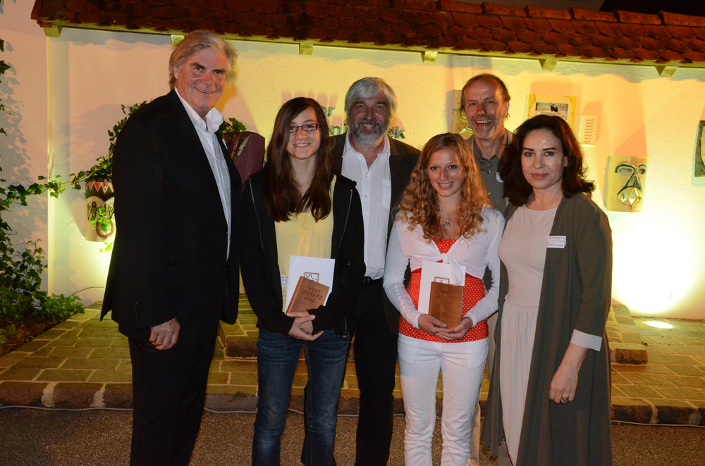 Siegerinnen Jugend - Wortschatz 2012 Literaturwettbewerb
