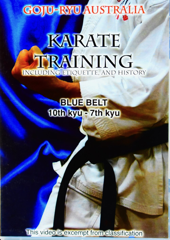 BLUE BELT TRAINING DVD   $39.95