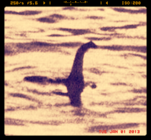 All Nessie needed was a little filter love.